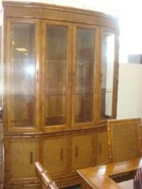 AMERICAN OF MARTINSVILLE 8 Piece Dining Room Set: : Lot 732