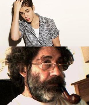 Profilbildet til Justin John Bieber på facebook. Egentlig er det linux-programmerer Michel Xhaard som er avbildet. Foto: Michel Xhaard)