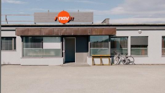 NAV-kontoret i Lakselv. (Foto: Jørgen Klüver, NRK)