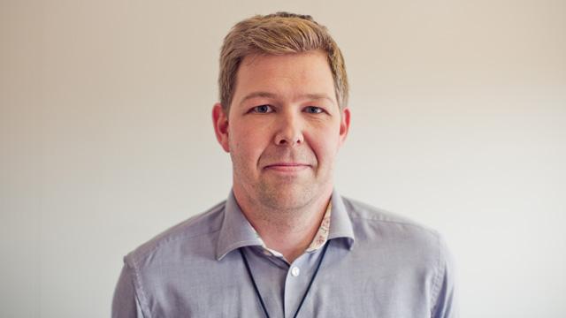 Per Omdal er leder for ungdomsenheten i kriminalomsorgen og sjef for det nye ungdomsfengselet i Bergen. (Foto: Tom Øverlie, NRK)