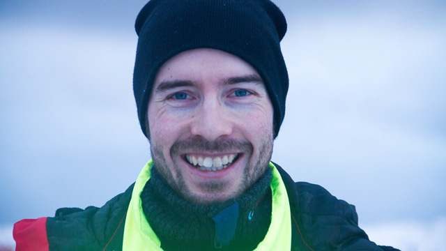 Petter Tande (27) byttet ut ski med fiskebåt i 2011. (Foto: Sigurd Vik, NRK)