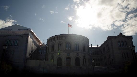 Stortinget (Foto: Rashid Akrim, NRK)