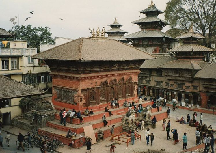 Durbar i Kathmandu (Foto: Wikipedia)