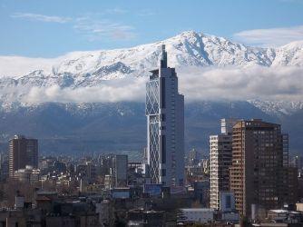 Torre Telefónica i Santiago de Chile (Foto: Wikipedia)