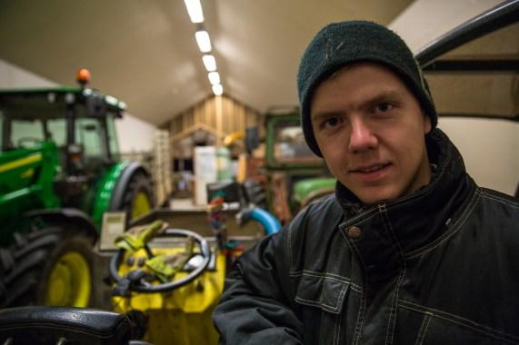 Marius Seldal (19). (Foto: Lars Erik Andreassen, NRK)
