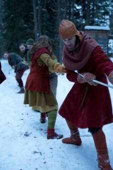 De norske vikingene tapte lekene i år, men de vant i fjor, og kommer nok sterkere tilbake til neste år. (Foto: Kristin Evensen Giæver, NRK)