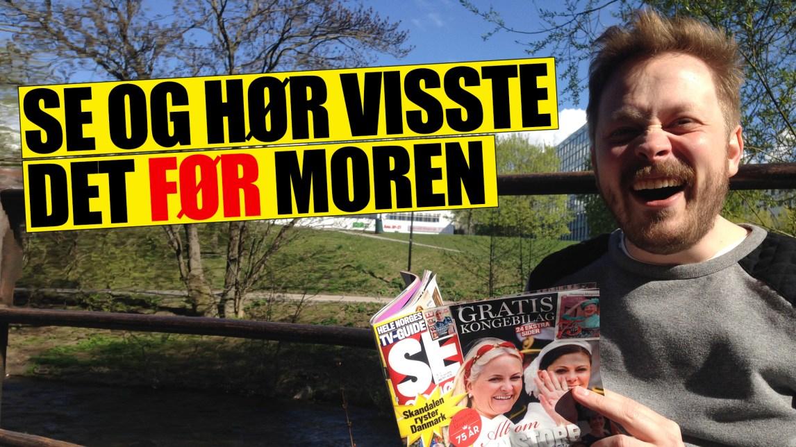 Da Tørnquist kjøpte leilighet i fjor var det ukjent for alle. Bortsett fra Se og Hør. (Foto: Webjørn S. Espeland / Fotofikling: Kim Erlandsen, NRK)