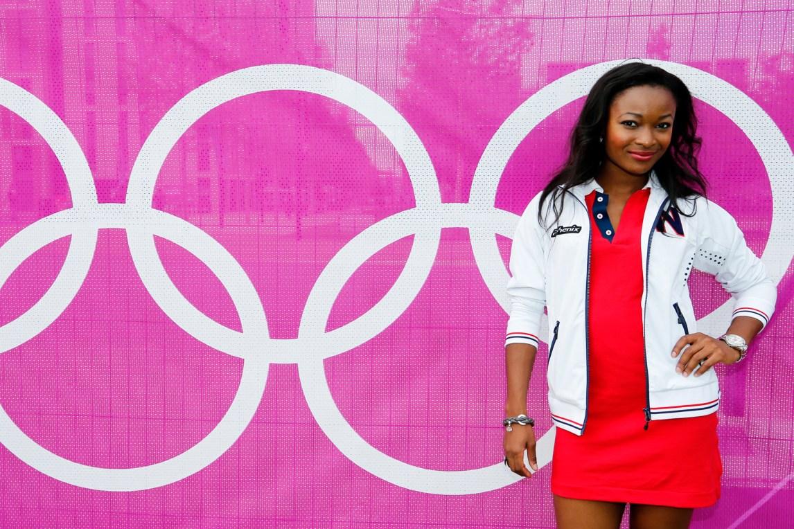 Ezinne Okparaebo under sommer-OL i London 2012. (Foto: Lise Åserud / NTB scanpix)