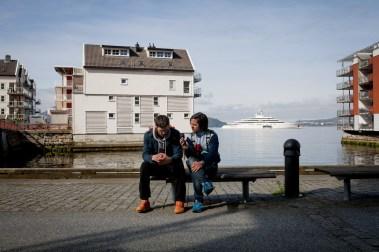 Dagen derpå i vakre Bergen. Foto: Matias Nordahl Carlsen