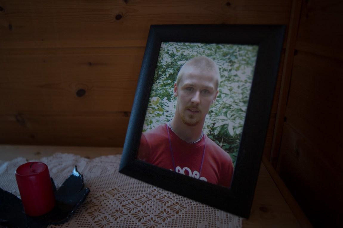 Tommy Hammerhaug (26) tok sitt eget liv i 2008. (Foto: Anne Dorte Lunås, NRK)