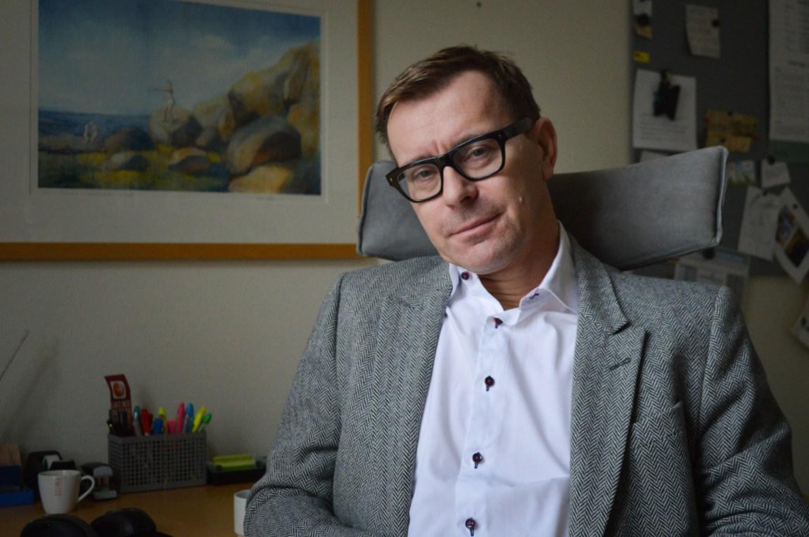 Psykologspesialist Pål Grøndahl har ingen tro på at man skal kunne skremme folk vekk fra en eventuell pedofil forstyrrelse. (Foto: Ola Solheim)
