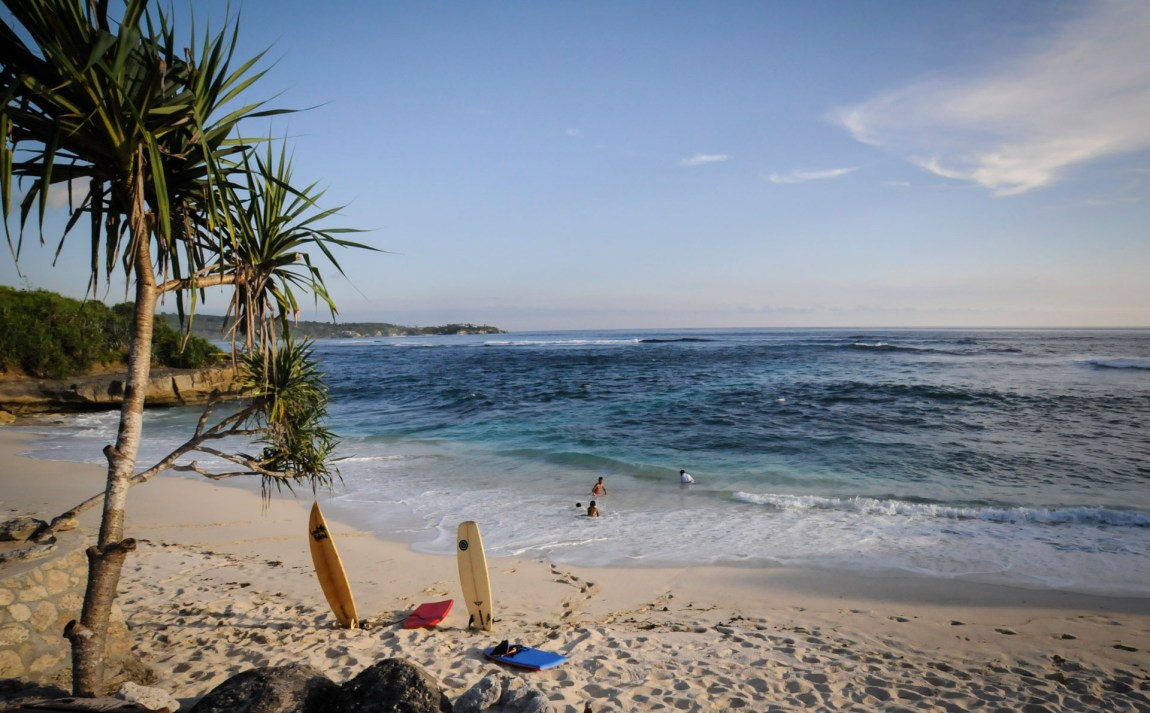En av mange paradisstrender på Bali. (Foto: Bart Speelman / CC BY 2.0)