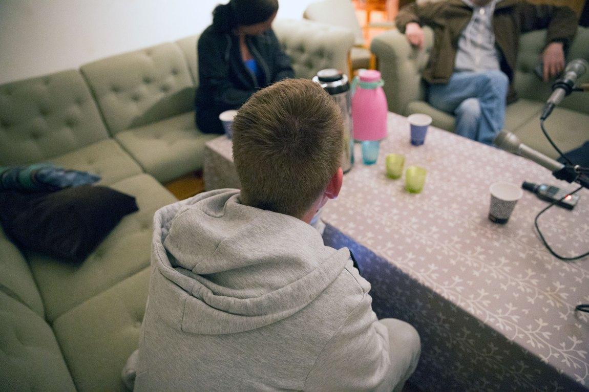 """""""Truls"""" var en sånn type som aldri dro hjem fra fest, fordi han ikke hadde noe sted å bo. Til slutt innså han at rusen var blitt et problem. Foto: Ludvig Løkholm Lewin, NRK P3"""