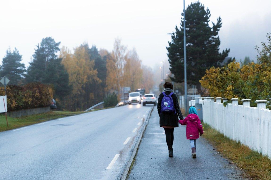 Amina orket ikke å forholde seg til andre enn kjæresten og datteren i flere år. Foto: Nora Brønseth, NRK P3