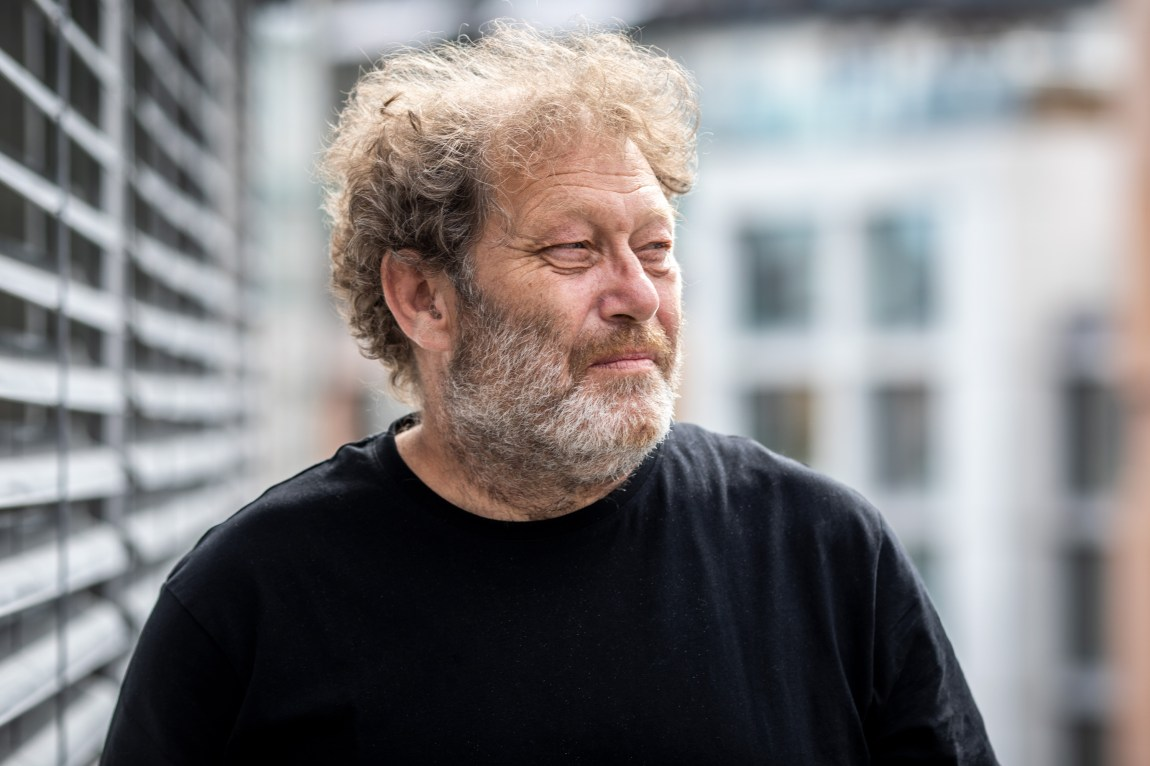 Frederic Hauge. Foto: Kim Erlandsen / NRK P3