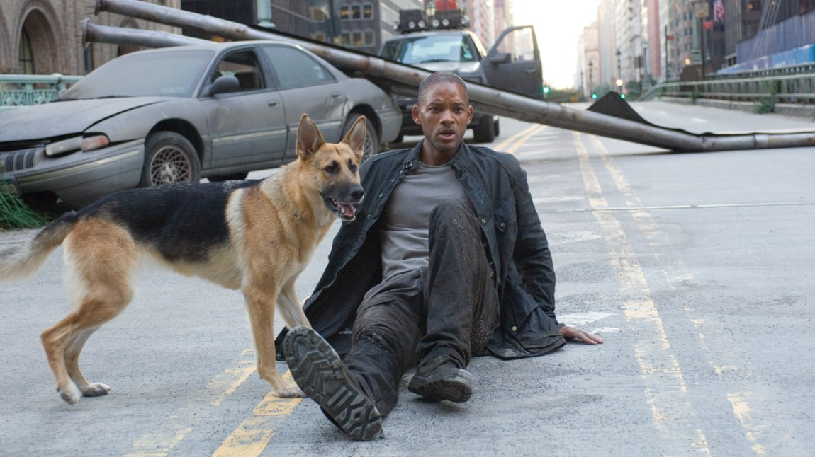 I am legend. (Foto: Warner Bros. Pictures)