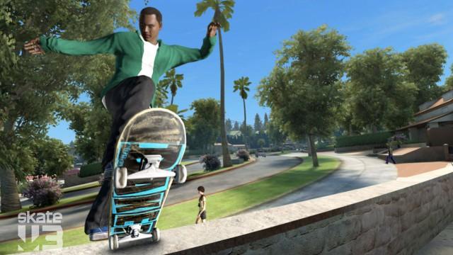 Du har god brettkontroll i Skate 3. (foto: EA)