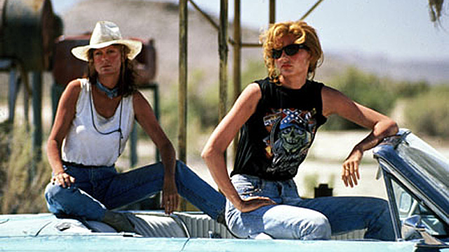 Geena Davies og Susan Sarandon i Thelma and Louise. (Foto: MGM Pictures)