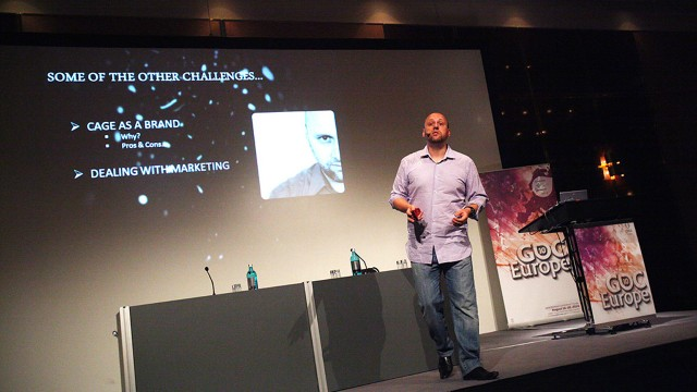 David Cage - Quantic Dream - GDC Europe 2010. (Foto: Flickr - OfficialGDC)