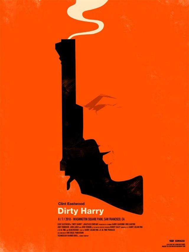 Dirty Harry (Ill: Olly Moss)