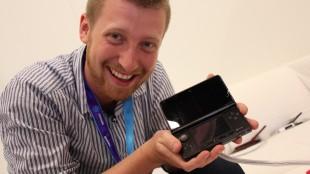 GamesCom 2010 - Nintendo 3DS m/ Rune. (Foto: NRK / Martin Aas)