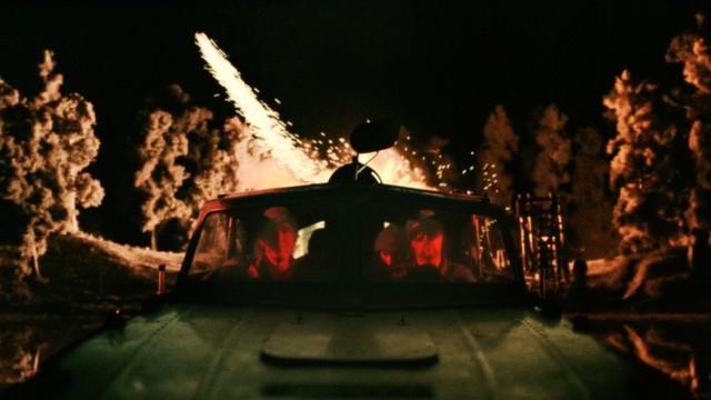 Actionscene fra Kommandør Treholt & Ninjatroppen. (Foto: Euforia Film)
