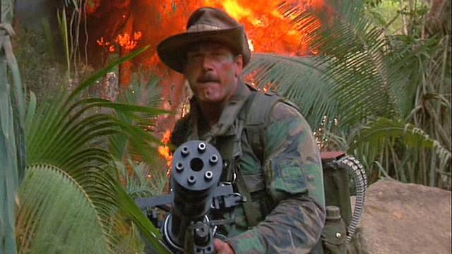 """Dette er mannen som også sier """"I ain't got time to bleed"""" i Predator! (Foto: SF Norge)"""