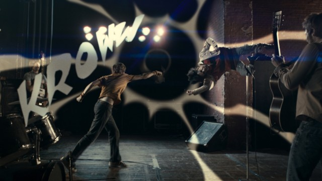 Actionscene fra Scott Pilgrim vs. The World. (Foto: United International Pictures)