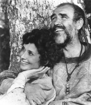 Robin and Marian - Audrey Hepburn og Sean Connery. (AP Photo/Columbia Pictures)
