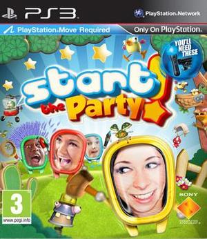 PS Move: Start the Party