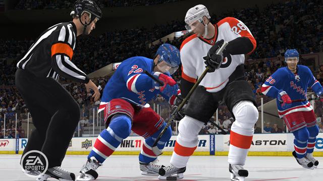 NHL 11. (Foto: EA)
