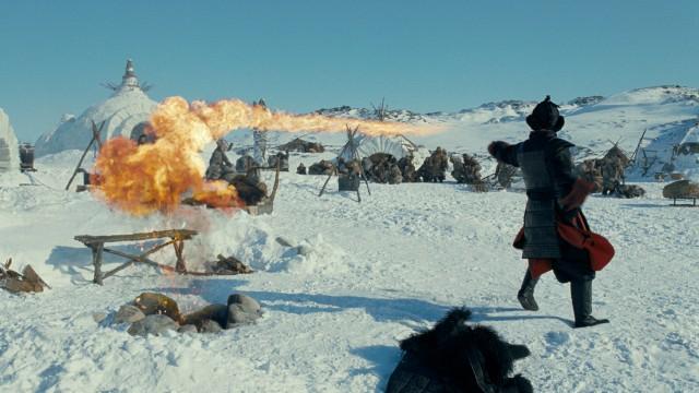 Ildspruting i Luftens siste mester 3D. (Foto: UIP)