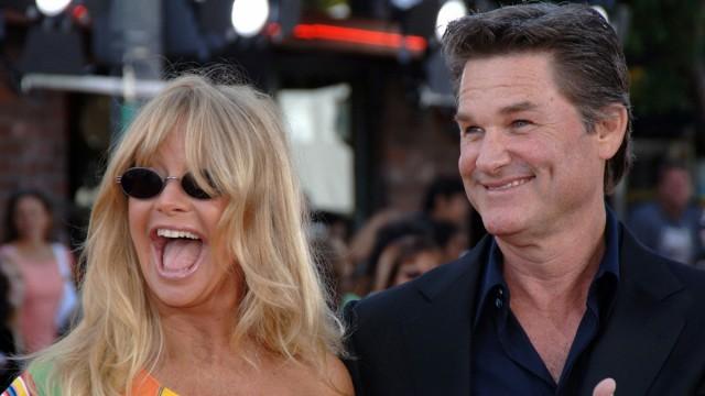 Goldie Hawn og Kurt Russell her en hemmelighet som ikke resten av Hollywood vet. (Foto: Scanpix/Phil McCarten)