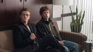 Justin Timberlake og Jesse Eisenberg i The Social network. (Foto: Walt Disney Studios Motion Pictures)