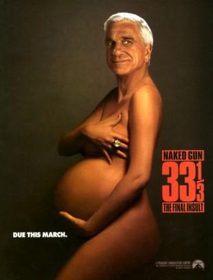 Plakat til Mannen med den nakne pistol 33 og 1/3. (Foto: Paramount)