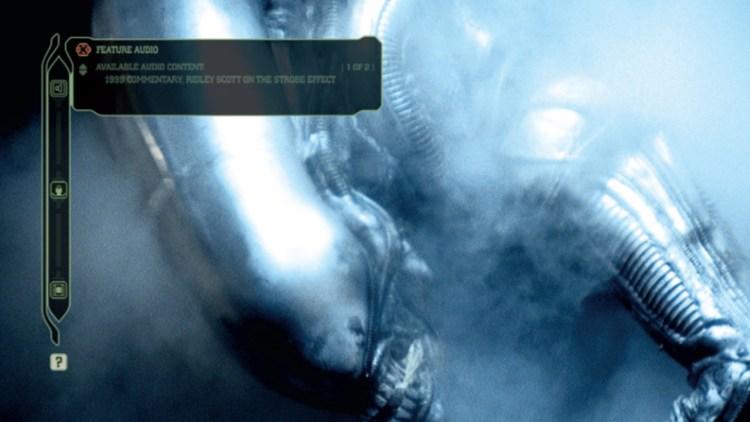 Et eksempel på MU-TH-UR-mode i Alien Anthology. (Foto: SF Norge)