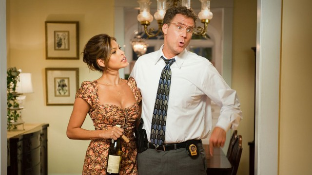 Eva Mendes og Will Ferrell i The Other Guys. (Foto: Walt Disney Studios Motion Pictures Norway)