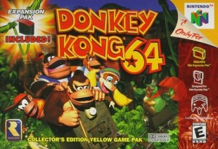 Donkey Kong 64 box art. (Foto: Nintendo)