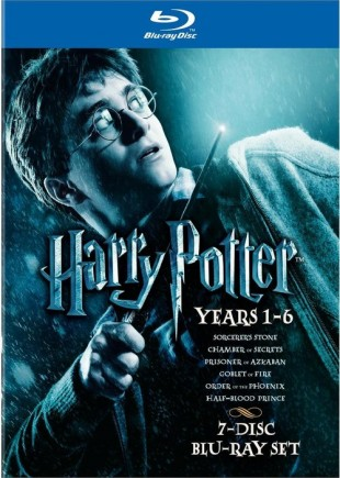 Harry Potter 1-6 cover. (Foto: Warner Bros. Home Entertainment)