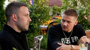 Ben Affleck og Jeremy Renner i The Town. (Foto: Sandrew Metronome)