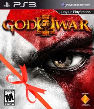 God of War 3 - julecover. (Foto: SCEE)