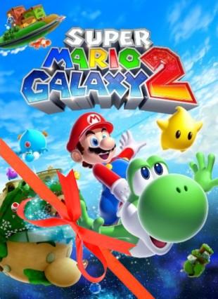 Super Mario Galaxy 2 - julecover. (Foto: Nintendo)