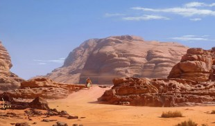 Uncharted 3 desert art. (Foto: Naughty Dog)