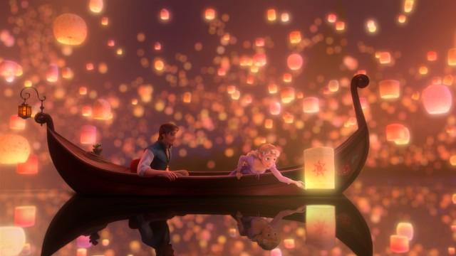 Vakker animasjon i To på rømmen. (Foto: Walt Disney Studios Motion Pictures Norway)