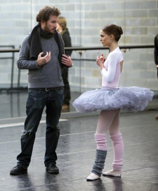 På settet til Black Swan. (AP Photo/Fox Searchlight, Niko Tavernise)