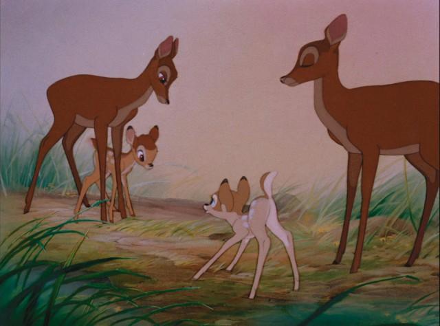 Bambi møter Faline. (Foto: Walt Disney Studios Home Entertainment)