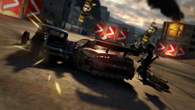 Tett action i MotorStorm Apocalypse. (Foto: Sony Computer Entertainment Europe)