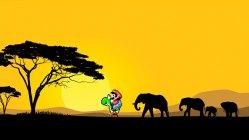– Jeg spilte Super Nintendo i Afrika