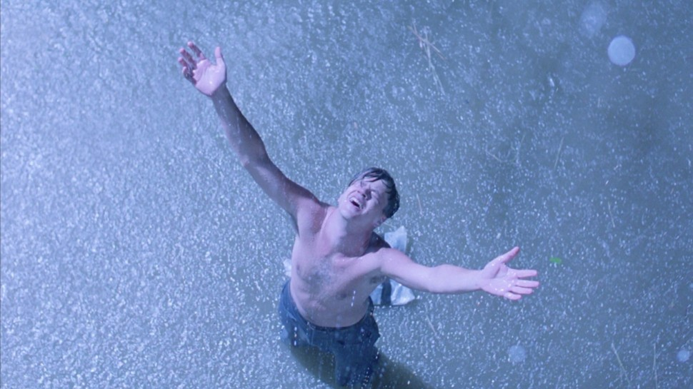 Tim Robbins i The Shawshank Redemption - Frihetens regn (Foto: Star Media Entertainment).