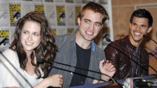 Twilight-gjengen på Comic-Con. (Foto: DENIS POROY/AP)